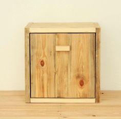 Scatola legno portaoggetti libreria scaffale di UsandLi su Etsy