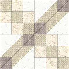 Block 20 Design for for the Simple shapes combined. Monochromatic Quilt, Neutral Quilt, Quilting Projects, Quilting Designs, Anni Downs, Low Volume Quilt, Farmhouse Quilts, Modern Quilt Blocks, Electric Quilt