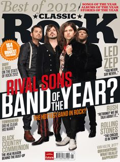 Rival Sons 1 of 5 covers January 2013