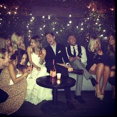 Ashley Tisdale and Christopher French engagement party