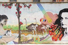 Graffiti Art or Mural, via Flickr. by StevenMiller ~ Cerro Concepcion in Valparaiso, Chile