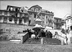 Chafariz das Janelas Verdes, Lisboa, 1900
