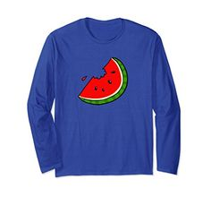Unisex Slice of Watermelon Fun Long Sleeve T-Shirt For Fr... https://www.amazon.com/dp/B077CDF3B5/ref=cm_sw_r_pi_dp_U_x_iQokAb49CSE9Y