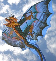 dragon kite - link marked suspicious by McAffee because it is redirected. This image suits me though.