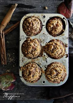 Apple and Persimmon Cinnamon Muffins {Recipe} @Secooking