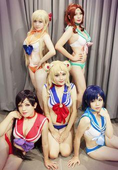 Sailormoon x Peach John - Maro Ch(Maro Ch) セーラーマーキュリー コスプレ写真 - WorldCosplay