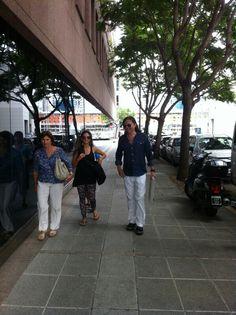 descubriendo #puertomadero... Placer asistirlos.