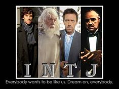 INTJs -- We make the best fictional characters.