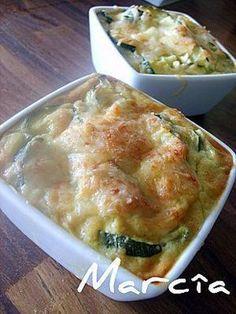 La recette du gratin de courgettes de ma grand-mère, sans béchamel, et rapide à faire !