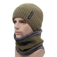 054825905b0 chicmaxonlineWinter Beanies Men Scarf Knitted Hat Caps Mask Gorras Bonnet  Warm Baggy Winter Hats For Men