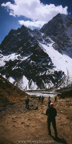 Descent from Mt. Everest | Print for sale