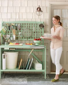 Setting Up a Grill Station - Martha Stewart Home & Garden....Making this Week!!!!