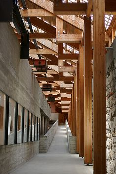 Sverre Fehn - Hedmark Museum |Shared by Sparano + Mooney Architecture| @S. C. Studio NYC