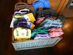 Spring Fjall Raven backpacks are as colorful as Easter eggs.