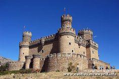 Manzanares castle in Spain