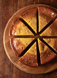 This heady olive oil cake gets its flavor from a puree of whole preserved oranges.