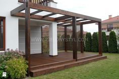 Would you like to have a beautiful pergola built in your backyard? You may have a lot of extra space available for something like this, but you'll need to focus on checking out different pergola plans before you have anything installed. Small Pergola, Modern Pergola, Pergola Attached To House, Deck With Pergola, Outdoor Pergola, Cheap Pergola, Backyard Pergola, Patio Roof, Diy Patio