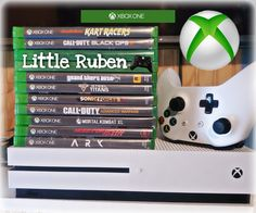 My Sons Xbox One Game Console with Xbox One games for kids | Little Ruben