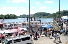 Pomeroy , OH Riverfest   Sept, 2006 by boat.....:)