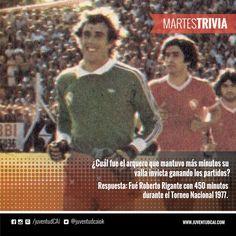 #MartesTrivia Respuesta! Fué Roberto Rigante con 450 minutos durante el Torneo Nacional 1977.
