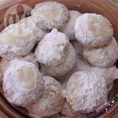 Foto da receita: Polvorón (biscoito amanteigado mexicano) #mexicanfoodrecipes