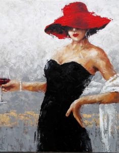 Drinking a glass of wine - Χαραυγή - Paper Hearts Gallery
