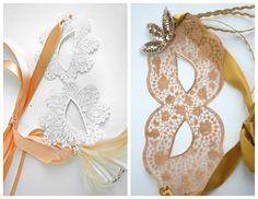 Masquerade Masks ~ they're NOT what you think they are! (:
