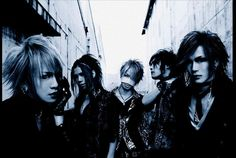 the GazettE... Can we just admit Uruha's face here for a minute?