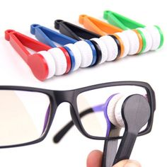 Essential Microfibre Glasses or Sunglasses Cleaner Tool
