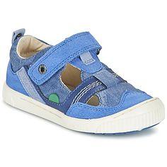 Sandale Kickers ZIGUERO Bleu 350x350