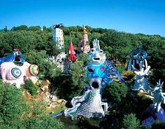 The Tarot Garden, Niki de Saint Phalle.