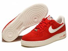 get cheap 145d4 64c78 2013 Nike Air Force 1 Red White Men s Shoes Air Force 1, Nike Air Force