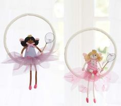 Doll Butterfly Dream Catchers. I have one of these on order ;-)