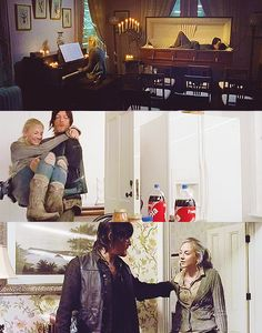"Daryl and Beth In ""Alone"""