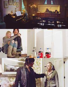 Daryl Dixon & Beth Greene // Bethyl // The Walking Dead // Norman Reedus & Emily Kinney