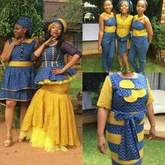 African Bridesmaid Dresses, African Wedding Attire, African Lace Dresses, African Dresses For Women, African Attire, Xhosa Attire, African Weddings, African Clothes, African Wear