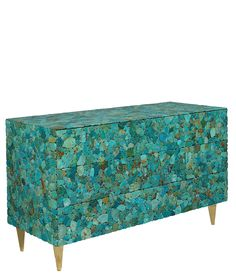 Turquoise Chest by Kam Tin