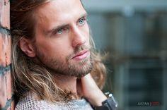 P. Bastian Welte by Justaw #malemodel #longhair #pogonophile #beard