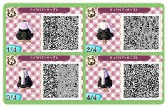 lsabelles:  cute black and white/pink? dress QR code (no source found)