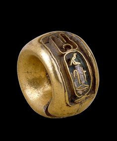 Ear Wear: Here is a Gold earring of Tawosret. From Tomb no. Valley of the Kings, Thebes, Egypt Dynasty (around BC) Ancient Egyptian Artifacts, Ancient Egyptian Jewelry, Ancient History, Egypt Jewelry, British Museum, Archaeology, Antique Jewelry, At Least, Valley Of The Kings