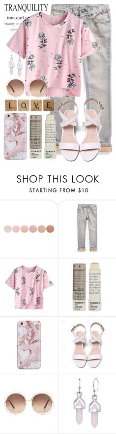 """""""Love and Peace"""" by brie-the-pixie ❤ liked on Polyvore featuring Deborah Lippmann, MANGO, Korres, Chloé, Bridge Jewelry and teammannequin"""
