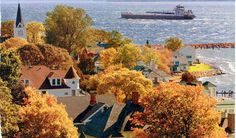 Oh, Mackinac island, how much I love you and always want to be there on that beautiful island.:)