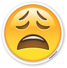 Weary Face   Emoji Stickers