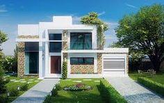 Resultado de imagem para projetos casas 2 andares 4 quartos