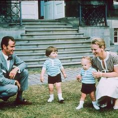 royals_europe_photos on Instagram: Danish Royal Family, circa 1970-Prince Henrik, Prince Frederik, Prince Joachim and Crown Princess Margrethe