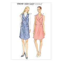 Mccall Pattern V9049 6-8-10-12--Vogue Pattern