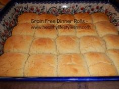 Grain Free, gluten free, paleo, dinner rolls!  If you can do yeast, you've got to try these!  AMAZING warm with butter and/or jam!