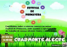 CIDADE: CRAS do Monte Alegre realiza Festival de Primavera...