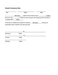 Free Download Promissory Note Promissory Note  How To Write A Promissory Note Download This Long .