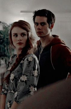 Lydia et Stiles Stiles Y Lydia, Lydia Teen Wolf, Teen Wolf Stydia, Teen Wolf Stiles, Tv Show Couples, Movie Couples, Dylan O'brien, Styles And Lydia, Classic Cartoon Network Shows